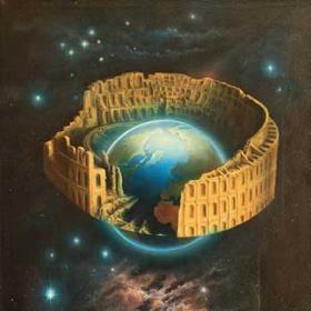 The Earth, Theatre of the Universe | surrealism. Author: Josef Vašák.
